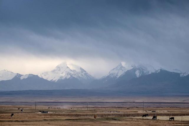Une des incroyables vues du Kirghizistan. Ici à... (Photo Jonathan B. Roy, Collaboration spéciale)