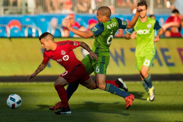 Le Toronto FC accueillera les Sounders de Seattle... (Archives, La Presse canadienne)