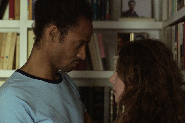 Iannicko N'Doua etLysandre Ménard dansD'encre et de sang... (Photo fournie par K-Films Amérique)