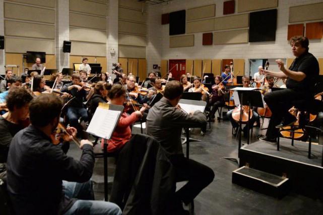 Lechef Alain Trudel et son orchestre interpréteront des... (PhotoChristina Alonso, fournie par la production)