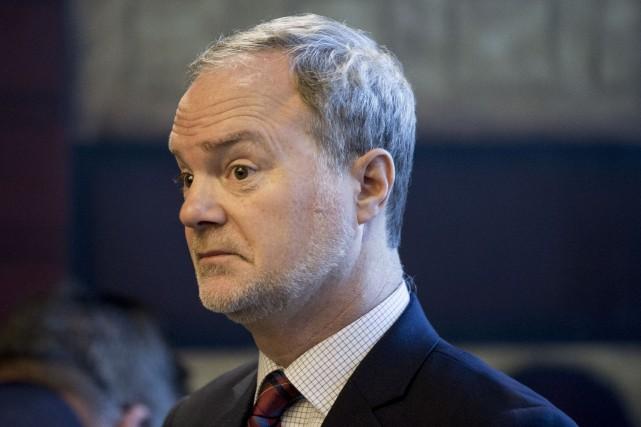 Le sénateur André Pratte... (Photo Marco Campanozzi, archives La Presse)