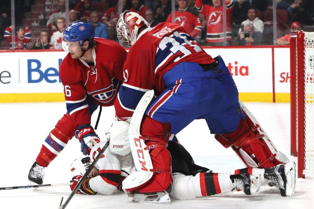 Carey Price aurait pu être expulsé du match... (Photo Jean-Yves Ahern, USA Today Sports)