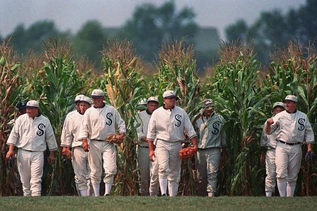 Le film Field of Dreams, sorti en 1989,... (Photo Charlie Neibergall, archives AP)