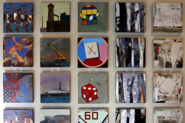 À la galerie Cube d'Ottawa, l'exposition de Noël... (Simon Séguin-Bertrand, Le Droit)
