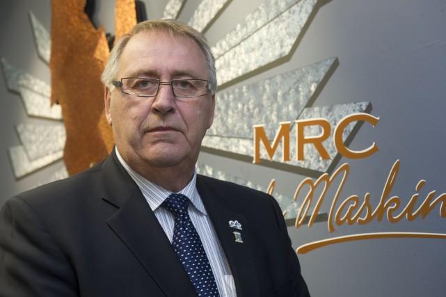 Le préfet de la MRC de Maskinongé, Robert... (Stéphane Lessard)