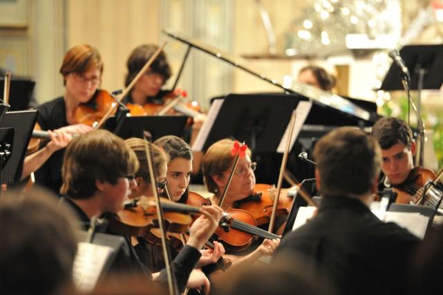 L'Orchestre de jeunes Philippe-Filion... (Stéphane Lessard)