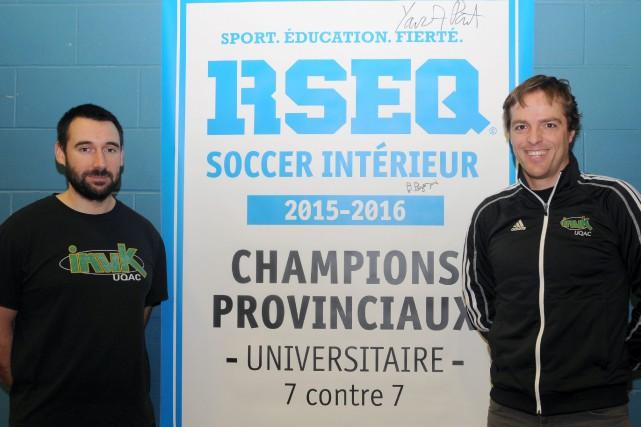 Christophe Lamant et Philippe Gagnon...