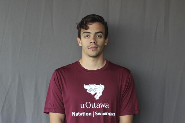 Ivan Cocunubo, jeune nageur natif de Hull, continuera... (Courtoisie)