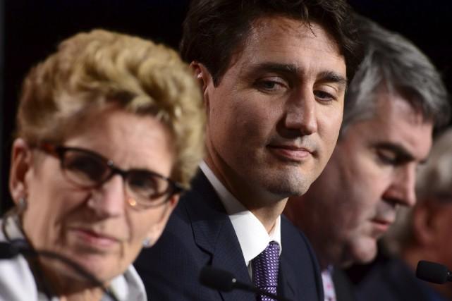 Comme l'avaient fait plusieurs de ses homologues avant... (La Presse canadienne, Sean Kilpatrick)