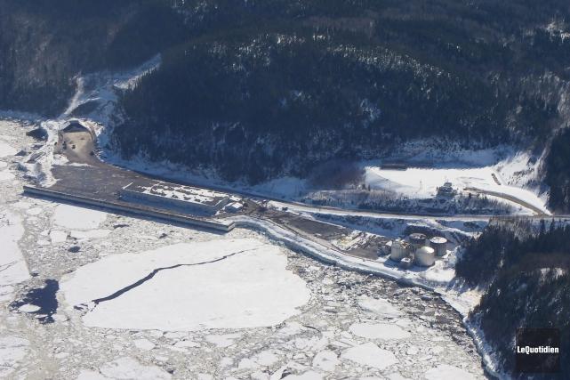 La minière Métaux BlackRock a posé son choix sur les terrains du terminal... (Archives Le Quotidien)