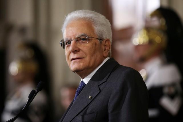 Le chef de l'État a précisé qu'il était... (PHOTO Alessandro Bianchi, REUTERS)