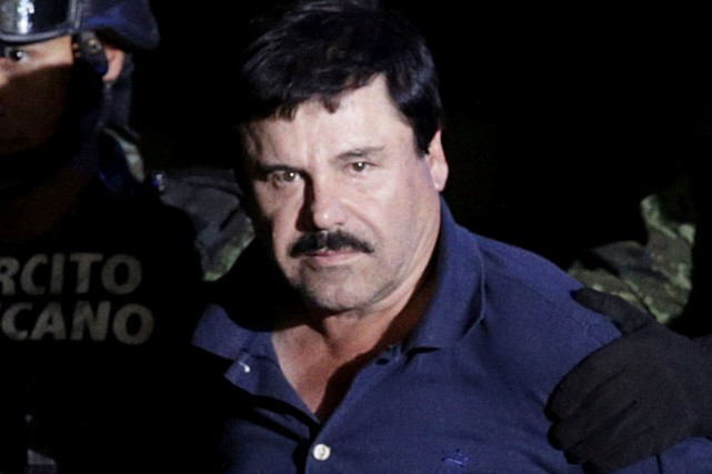 Joaquin «El Chapo» Guzman... (photo Henry Romero, archives REUTERS)