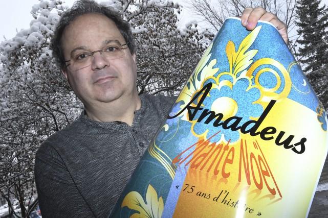 Le directeur du Choeur Amadeus, Pierre Lamontagne, estime... (Progrès-Dimanche, Jeannot Lévesque)