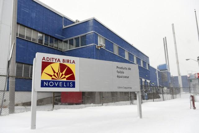 L'Usine Novelis à Jonquière a fermé ses portes... (Le Progrès-Dimanche, Rocket Lavoie)