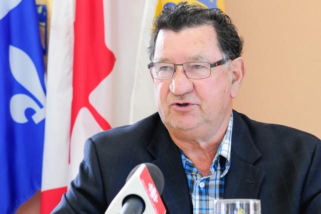 Le maire de Chambord, Gérard Savard, est déçu... (Archives Le Progrès-Dimanche, Gimmy Desbiens)