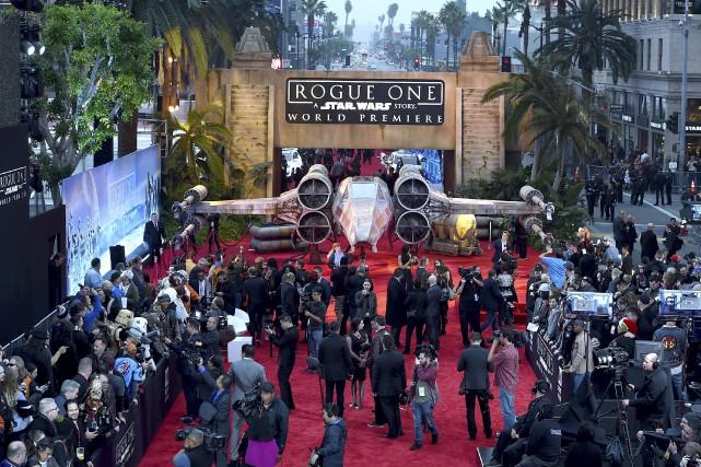 Hollywood «est le centre de l'univers cinématographique, mais... (AP, Jordan Strauss)