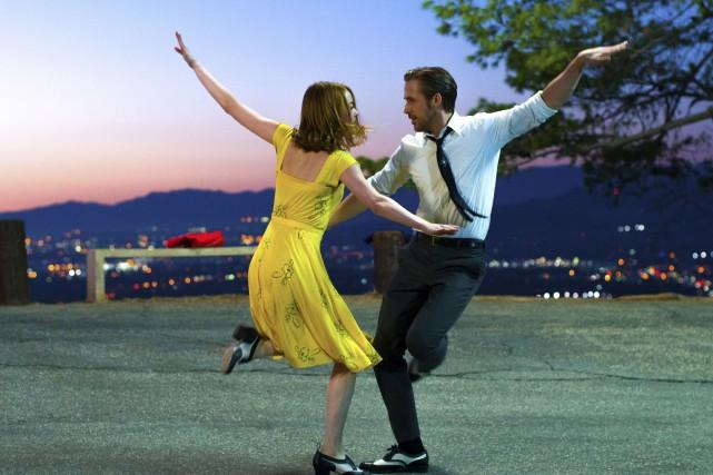 La La Land, une comédie romantique musicale de... (AP, Dale Robinette)