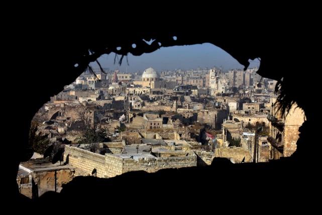 «Alep est le vrai tournant de la guerre,... (AFP, George Ourfalian)