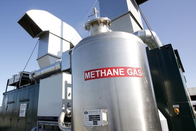 Deuxième grand gaz à effet de serre lié... (Photo AP)