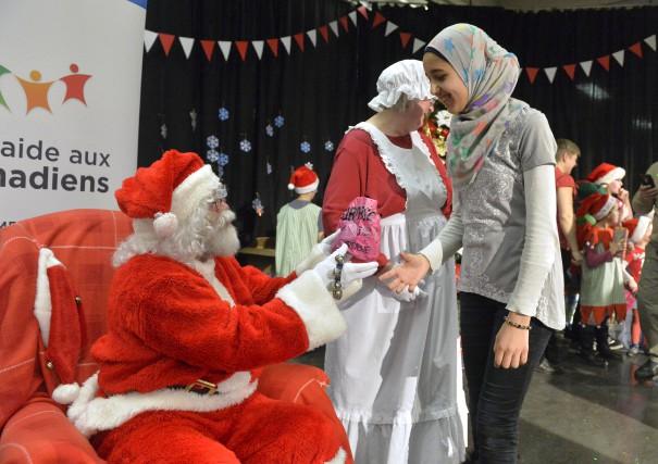 Le père Noël a fait bien des heureux... (Spectre Média, Maxime Picard)