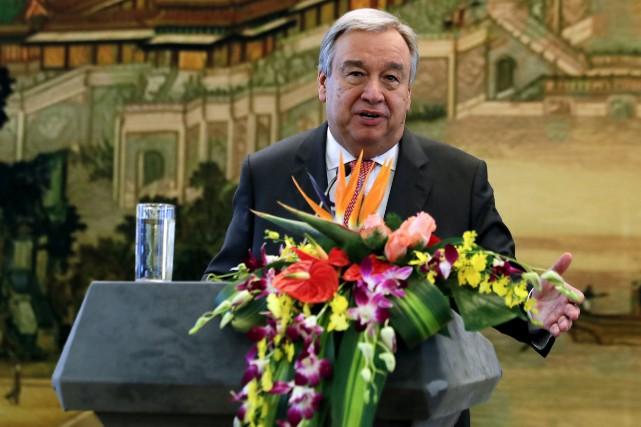 Premier ancien dirigeant d'un pays à accéder à... (AP, Andy Wong)