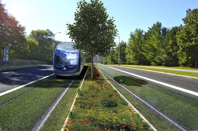 L'idée d'un tramway plaît à Maxime Pedneaud-Jobin: «C'est... (Courtoisie)