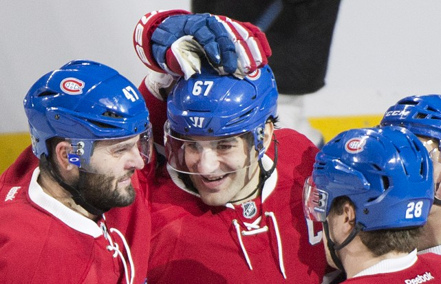 Le capitaine du Canadien de Montréal, Max Pacioretty,... (La Presse Canadienne, Graham Hugues)