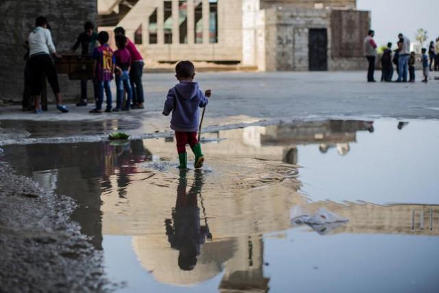 Cette nouvelle vague de réfugiés est «presque à... (photo edouard plante-fréchette, archives la presse)