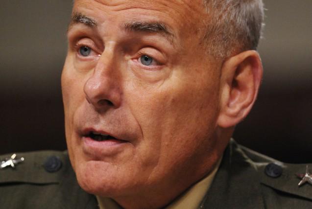 John Kelly,ancien Marine, général de corps d'armée, âgé... (AFP)