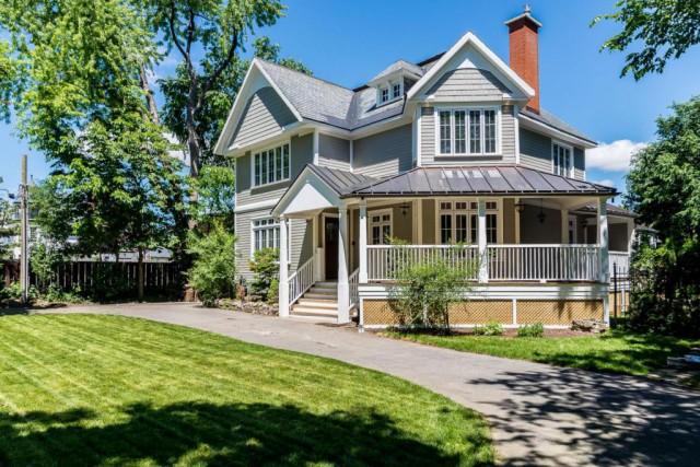 La maison plus que centenaire a été complètement... (Photo fournie par Groupe Sutton-Expert)