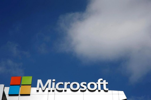 Après Google, c'est au tour de Microsoft de... (PHOTO Lucy Nicholson, Archives Reuters)