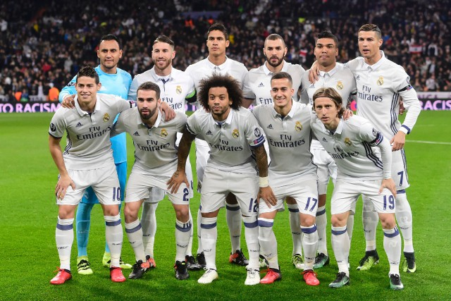 Le Real Madrid (sur la photo), tenant du... (Photo Pierre-Philippe Marcou, AFP)