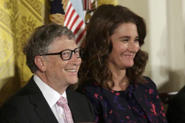 Bill et Melinda Gates... (REUTERS)