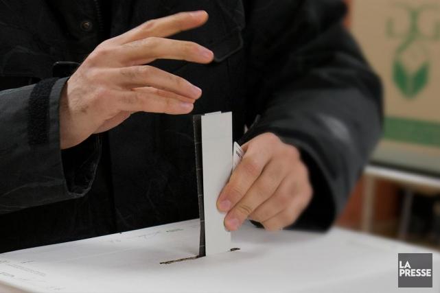 «Tout le problème du mode de scrutin est... (Archives La Presse)