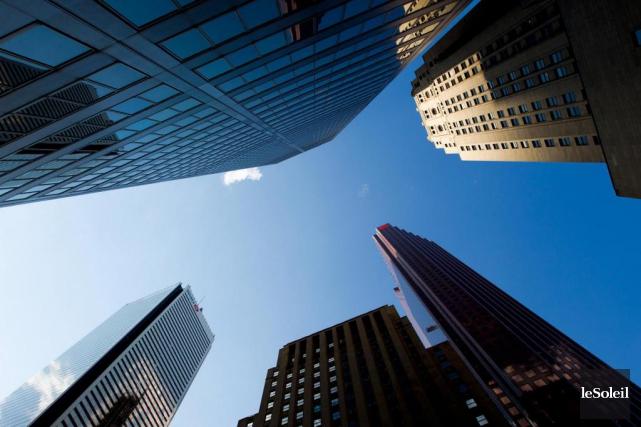 «On ignore comment les banques agiraient sous le... (Photothèque Le Soleil)
