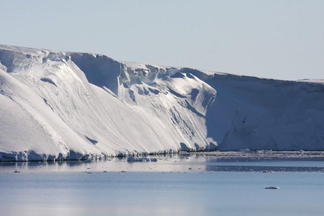 La calotte glaciaire de l'est de l'Antarctique pourrait... (photo archives Agence France-Presse)