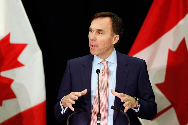Le ministre fédéral des Finances, Bill Morneau, a... (PHOTO FRED CHARTRAND, ARCHIVES PC)