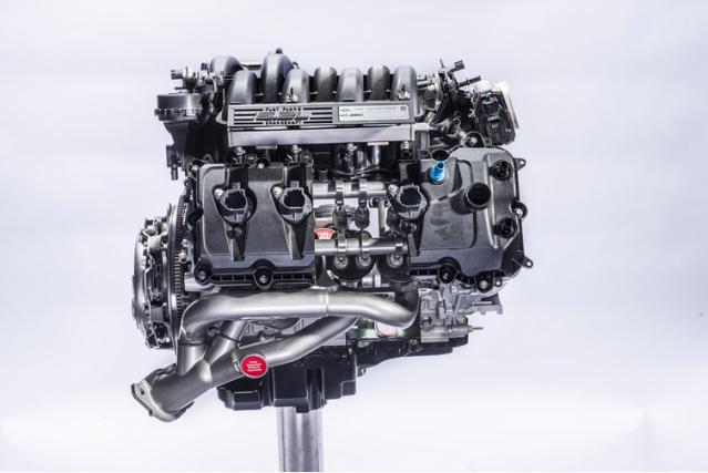 Le V8 de 526 chevaux de Ford et... (Photo : Ford)
