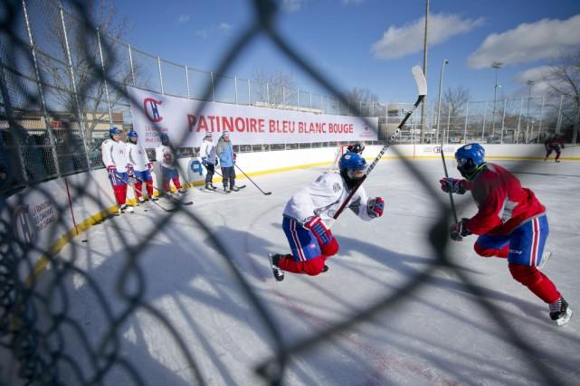 Trois-Rivières aura sa patinoire communautaire Bleu Blanc Bouge,... (La Presse)