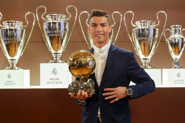 Cristiano Ronaldo a connu une année 2016 remarquable,... (AFP, Angel Martinez)