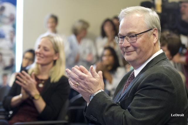 Le président-directeur général de l'Hôpital d'Ottawa, Jack Kitts,... (Martin Roy, Le Droit)
