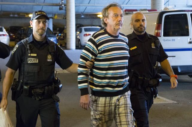 Claude-Auguste Piant lors de son arrestation.... (Archives, La Tribune)