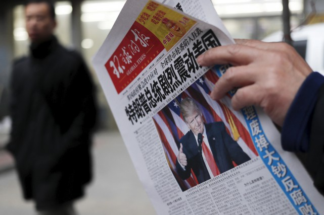 Les récentes déclarations de Donald Trump ont été... (AP, Andy Wong)