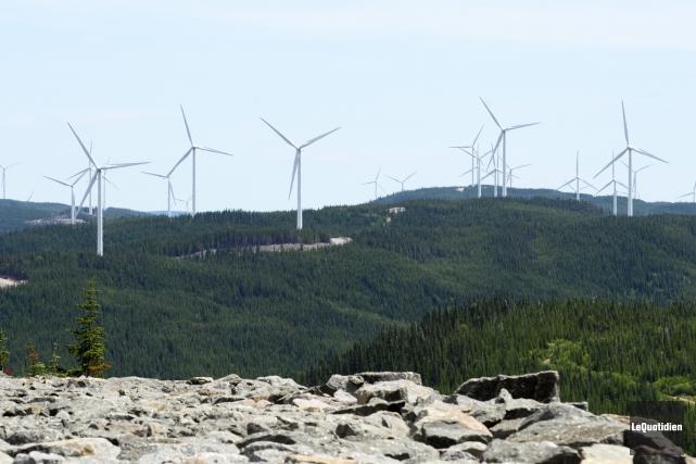 La Corporation du parc éolien de la Rivière-du-Moulin... (Archives Le Quotidien)