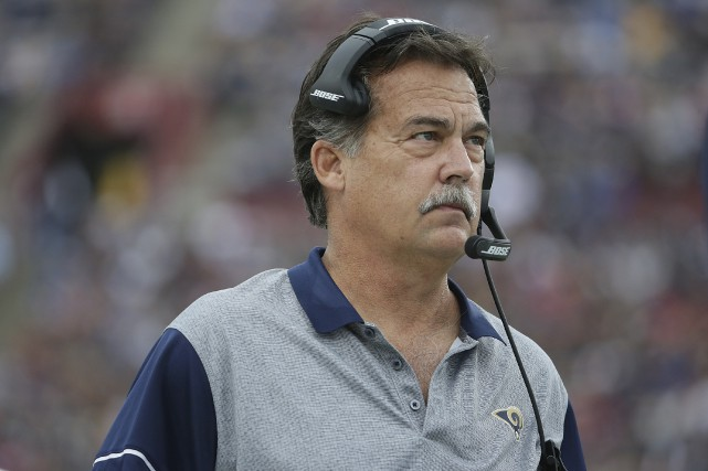 Jeff Fisher avait paraphé une prolongation de contrat de... (AFP, Jeff Gross)
