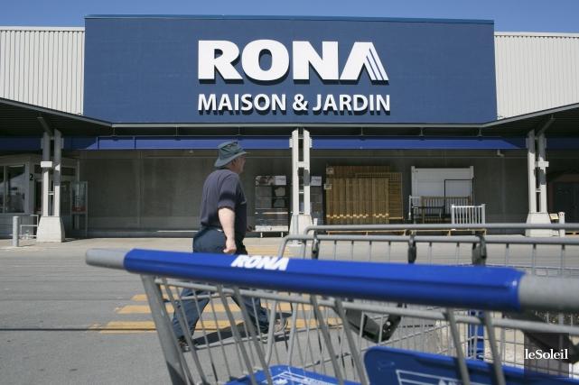L'été dernier, le RONA situé à Anjou, à... (Photothèque Le Soleil)