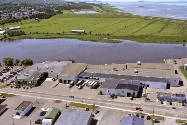 L'usine de Prelco à Rivière-du-Loup... (fournie par Prelco)