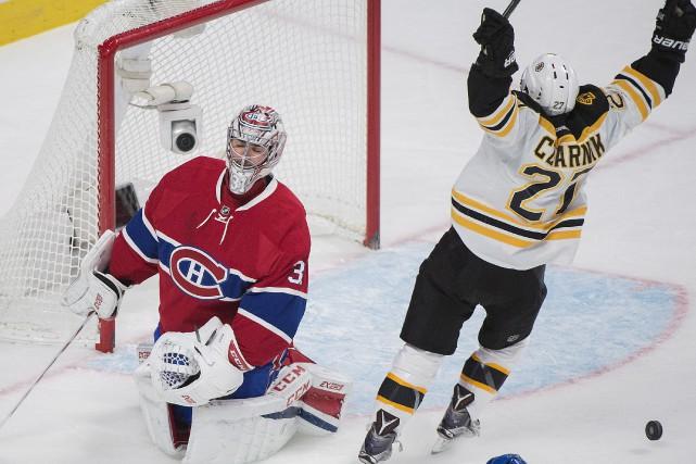 Dans un match où la traditionnelle rivalité Boston-Montréal... (La Presse canadienne)