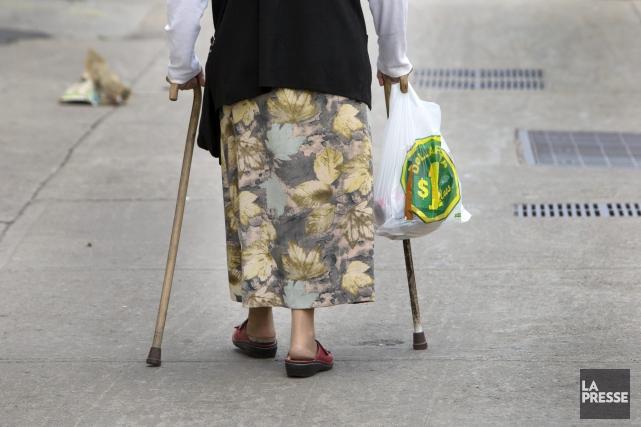 Une baisse de près de 20% des 20-64 ans est à prévoir d'ici 2036 au... (Photo La Presse, Robert Skinner ,)