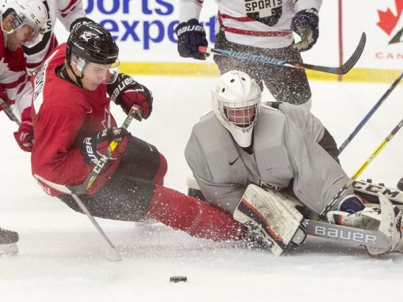 La formation canadienne des moins de 20 ans... (La Presse Canadienne)